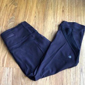 Pants - Lulu Lemon Leggings Size 6 Plum Color